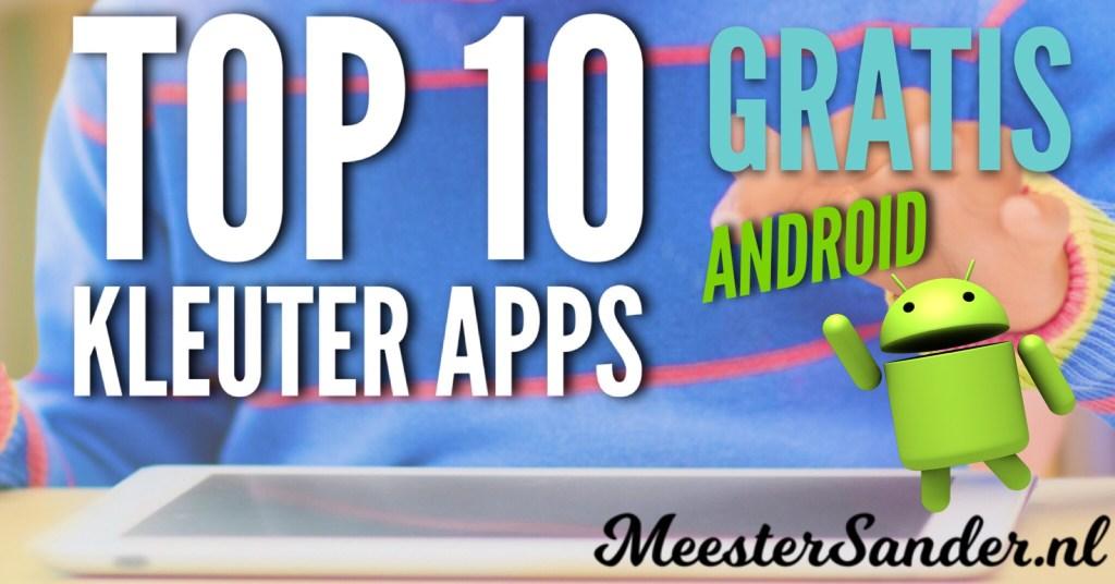 Top 10 kleuter apps Android gratis