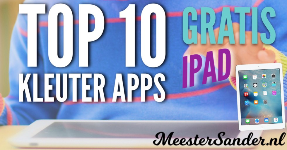 Top 10 kleuter apps iPad gratis