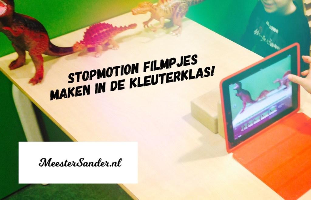 stopmotion video's maken in de kleuterklas