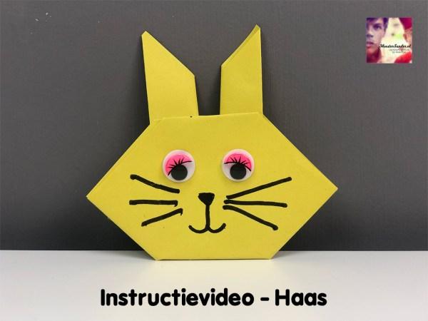 instructievideo Haas vouwen