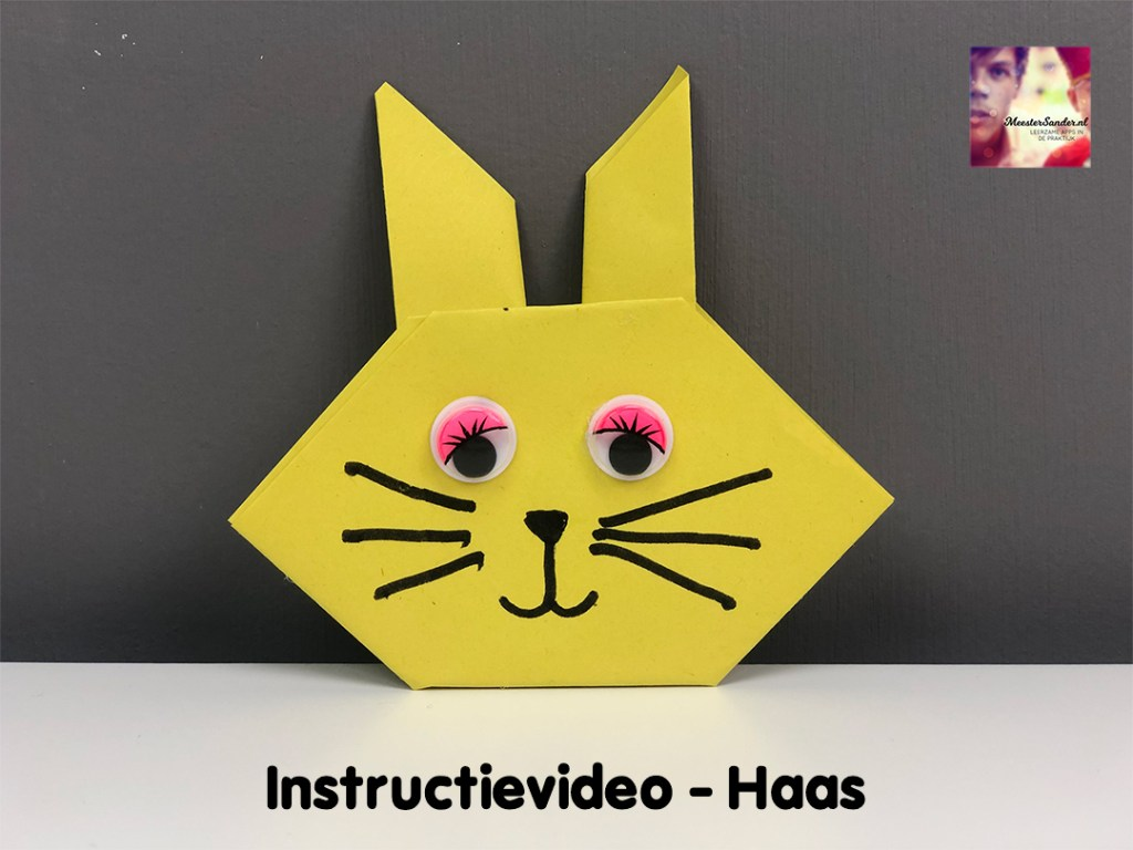 instructievideo Haas vouwen