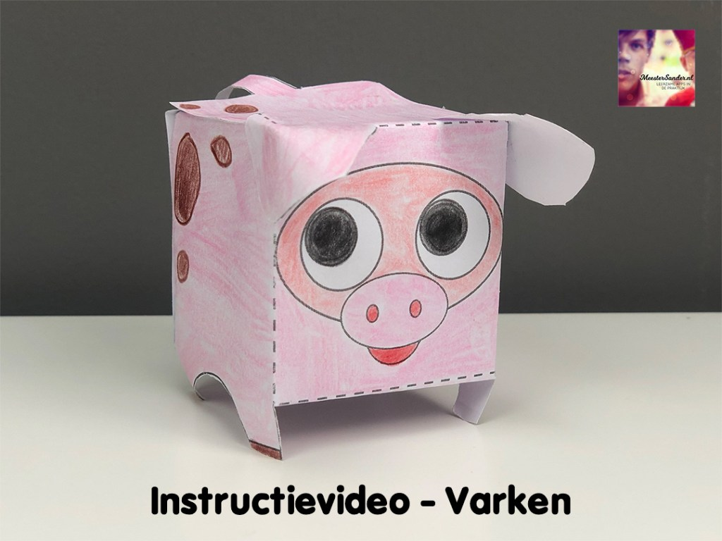 instructievideo Varken vouwen
