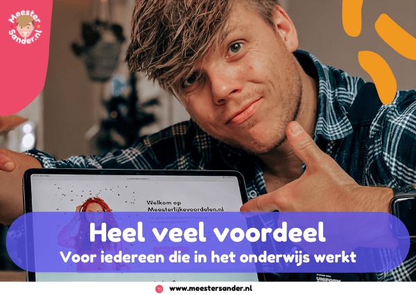 Korting voor iedereen die in het onderwijs werkt! – Meesterlijkevoordelen.nl