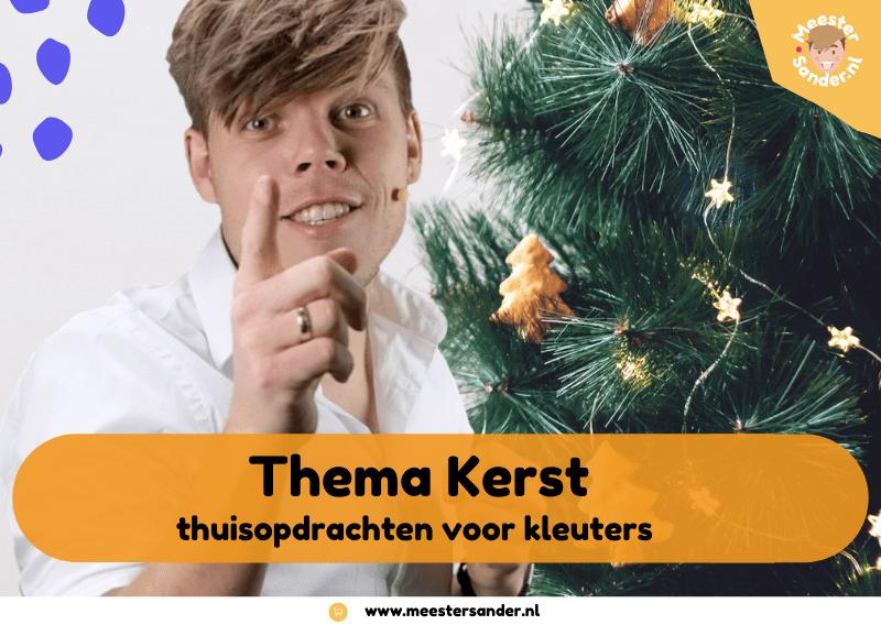 Thuisopdrachten voor kleuters – Thema kerst en jaarwisseling