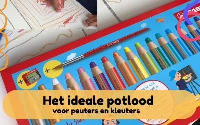 Het ideale potlood voor peuters en kleuters