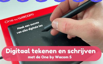 Verrijk je lessen met een tekentablet – Review One by Wacom S