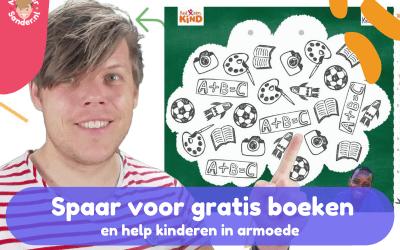 Spaar voor gratis kinderboeken tijdens de kinderboekenweek 2021