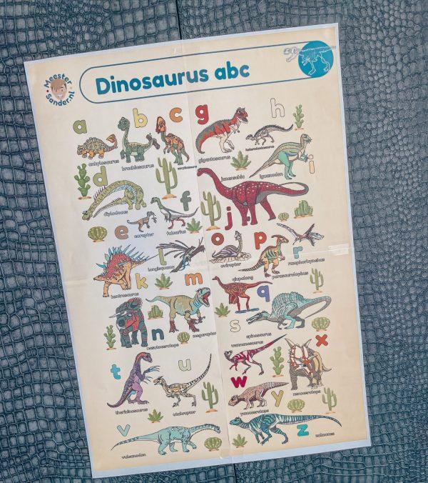 poster dinosaurus abc