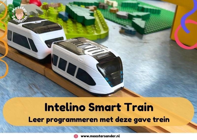 Programmeerbare trein voor kleuters – Review Intelino Smart train
