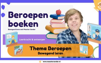 Bewegend leren Kinderboekenweek – Thema beroepen
