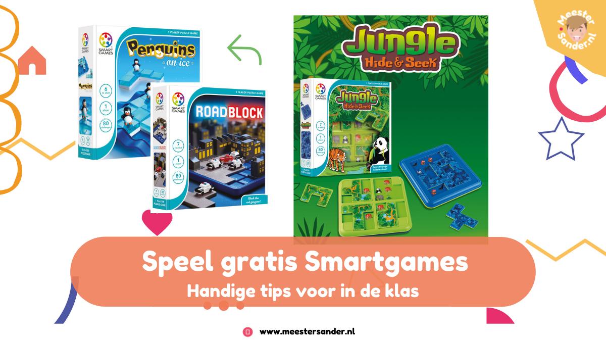 Tips voor slimme kleuters – Dit moet je weten over Smart Games in de klas!