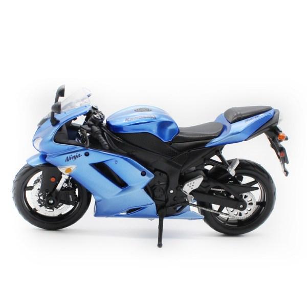 川崎忍者 ZX-6R 藍色電單車