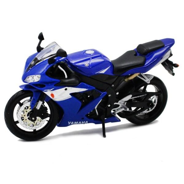山葉 YZF-R1 藍色電單車【 比例 1:12 】
