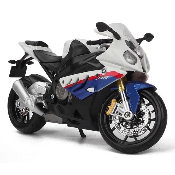 寶馬 S 1000 RR 白色電單車