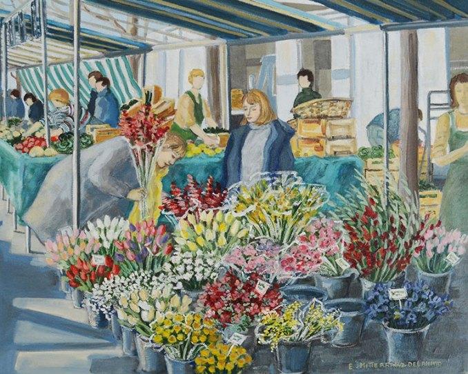Flower maket - marché aux fleurs