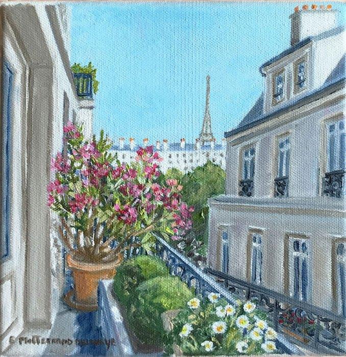 Balcon à Paris