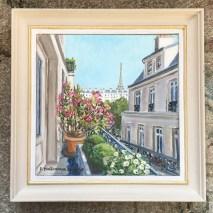 Balcon à Paris_EMitterrand