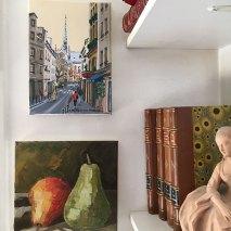 la flèche de Notre-Dame et les poires