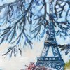 Oil-painting-of-Eiffel-Tower-by-Edwige-Mitterrand-Delahaye