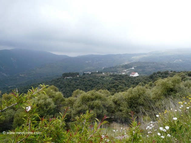 The view from Elyros crete