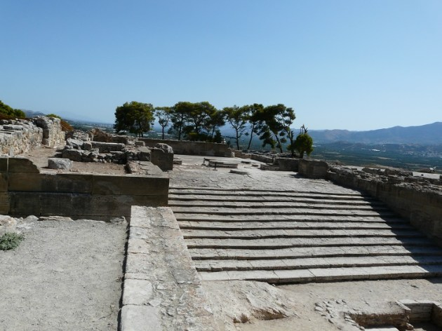 Phaistos Palace, the most splendid representative of Minoan architecture