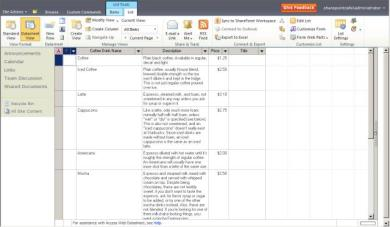 How to Synchronize Excel 2010 + SharePoint 2010 List with