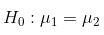Test di ipotesi esempio H0