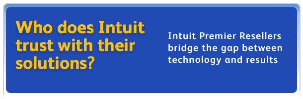 Who does Intuit trust with their solutions? Intuit Solution Providers bridge the gap between technology and results.