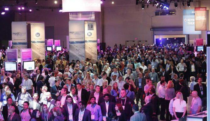 CA Technologies exhibit floor