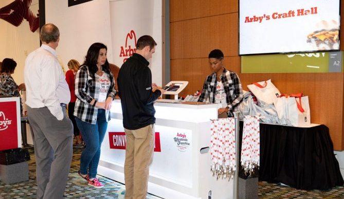 Arby's registration set up