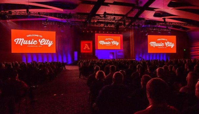 Arby's general session in Nashville, TN