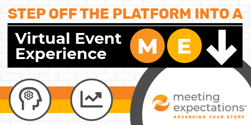 Step off the platform into a Virtual Event Experience