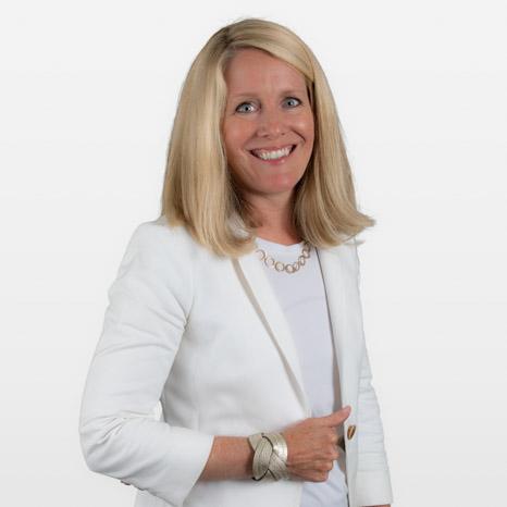 Head shot of Christine Hilgert on white background