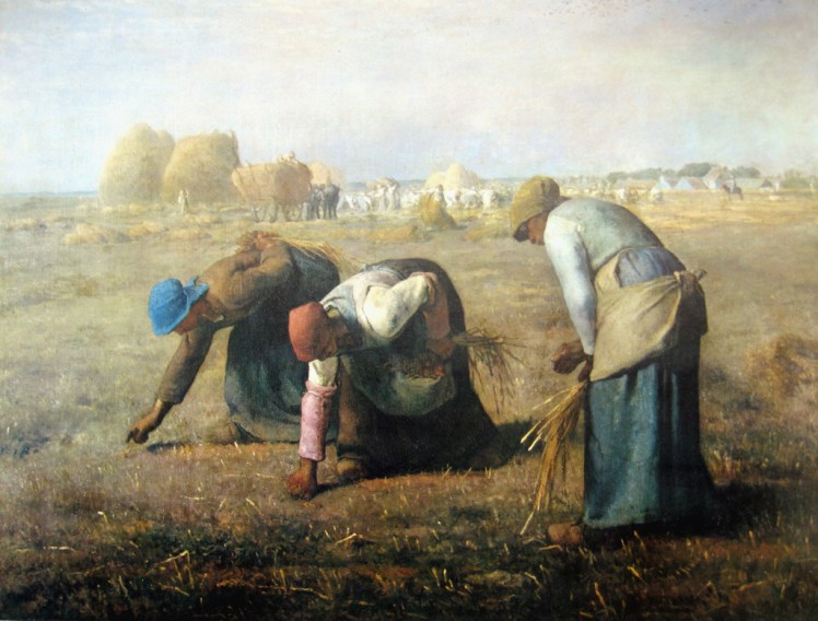 Ruth - The Gleaners Jean Francois Millet