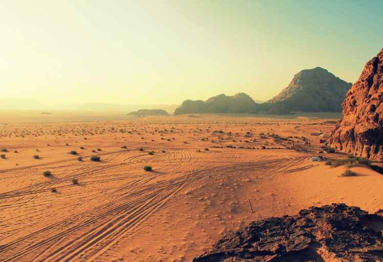 sand field