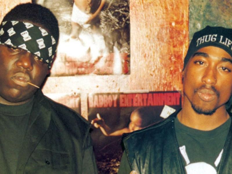 Biggie Smalls and Tupac Shakur