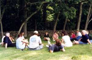 Meeting Group Outside