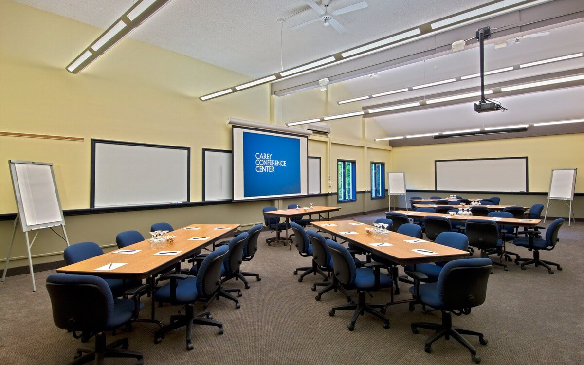 modern meeting space
