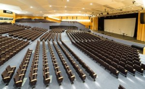 New 1,800-seat Europauditorium plenary hall inaugurated in Bologna
