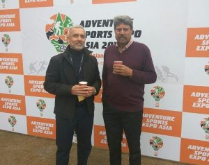 Legendary cricketer Kapil Dev inaugurates India's first ever Adventure Sports Expo Asia 2018