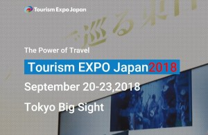 For everyone who loves traveling: Tourism EXPO Japan 2018