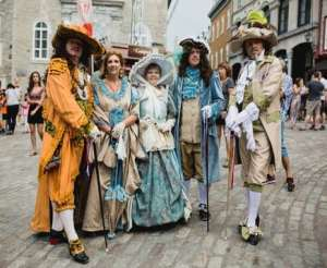 The heart of Old Quebec City beating to the rhythm of New France
