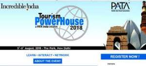 What PATA announced at the Tourism PowerHouse 2018 in India?