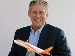 easyJet boss cleared to land at WTM London