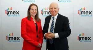 Carina Bauer, CEO, IMEX Group and Ray Bloom, Chairman, IMEX Group