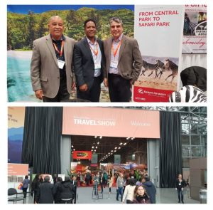 Kenya Airways joins Seychelles Tourism Board at New York Times Travel Show 2019 edition