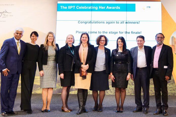 Celebrating Her Awards making women visible in tourism at ITB Berlin 2019