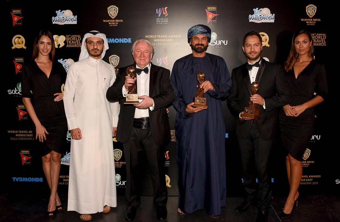 Middle East's finest travel brands revealed at World Travel Awards in Abu Dhabi