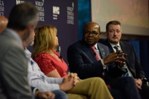 Minister Bartlett addresses global tourism leaders at 2019 World Travel and Tourism Council