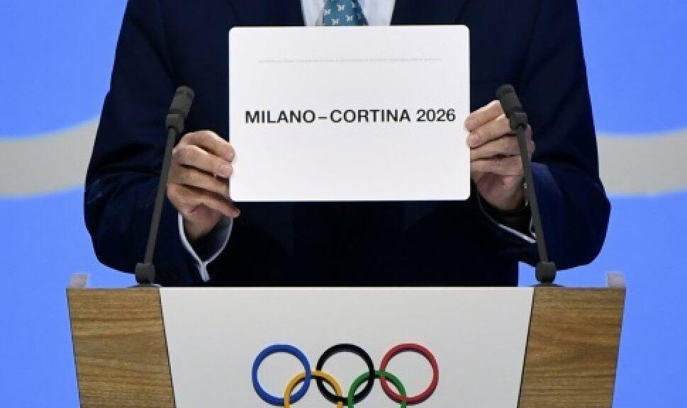 Italy's Milan and Cortina d'Ampezzo will host 2026 Winter Olympics